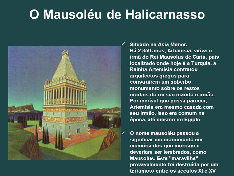 O Mausoléu de Halicarnasso