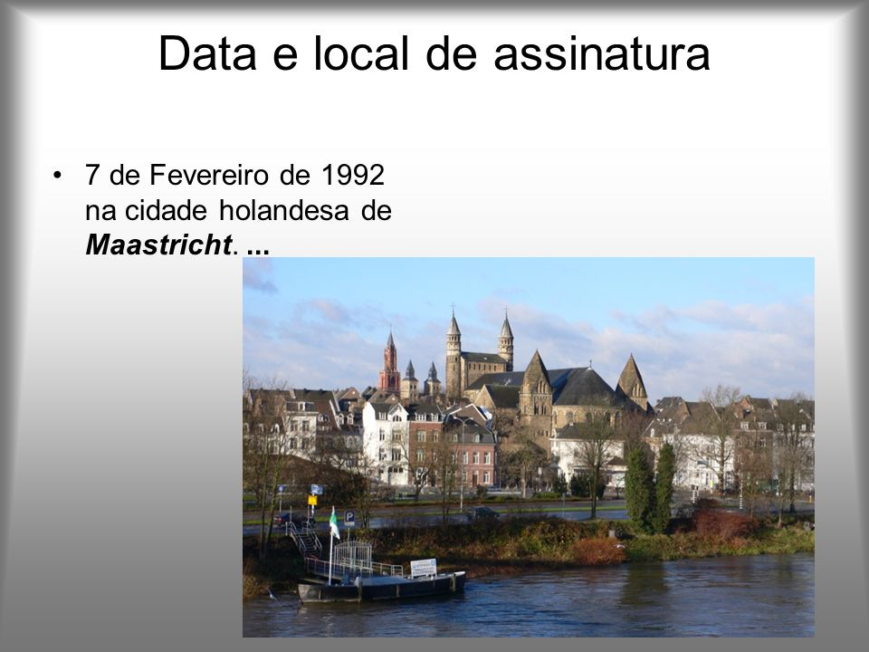 Data e local de assinatura