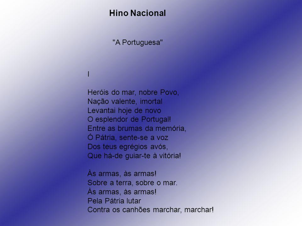 Hino Nacional A Portuguesa I