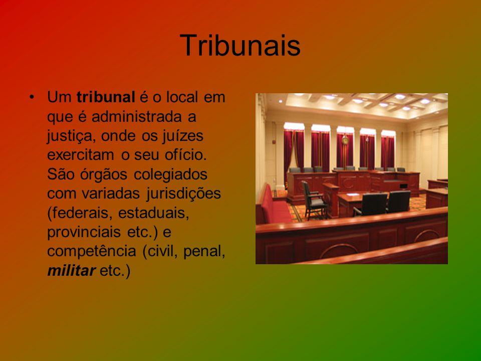 Tribunais