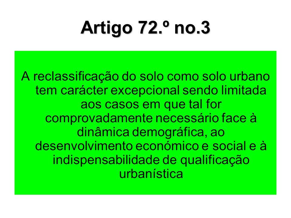 Artigo 72.º no.3