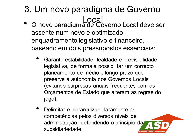 3. Um novo paradigma de Governo Local