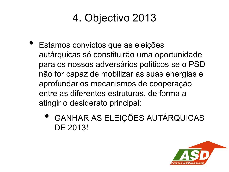 4. Objectivo 2013