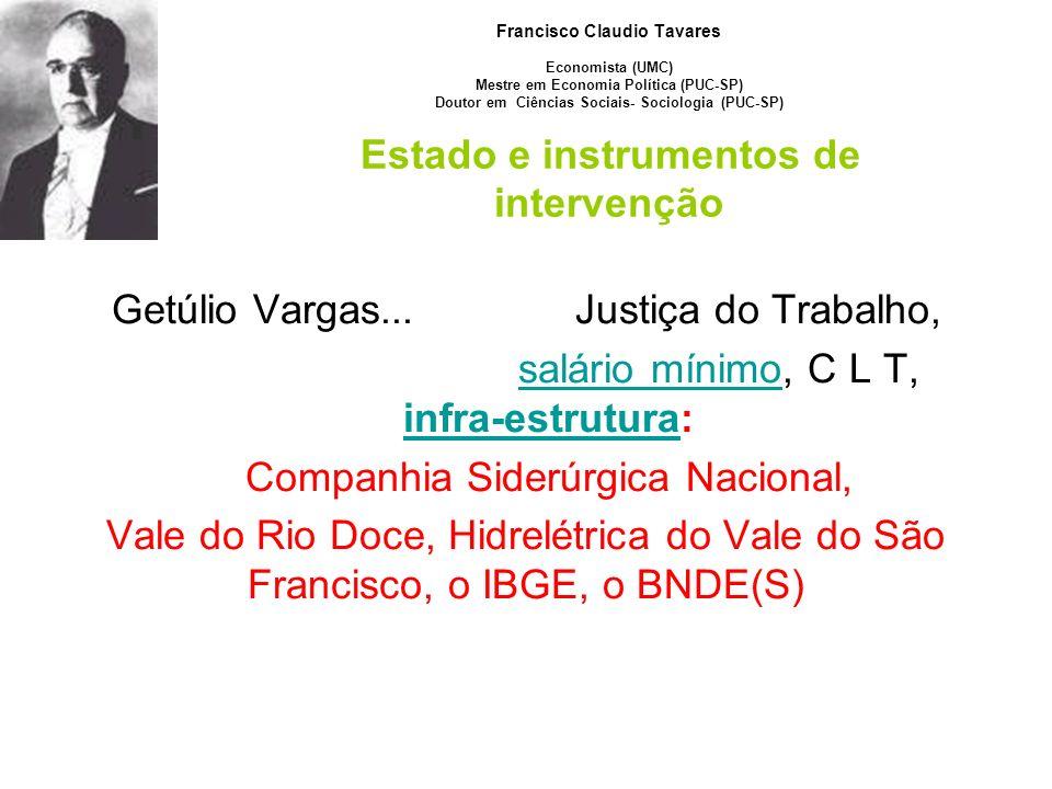 Getúlio Vargas... Justiça do Trabalho,