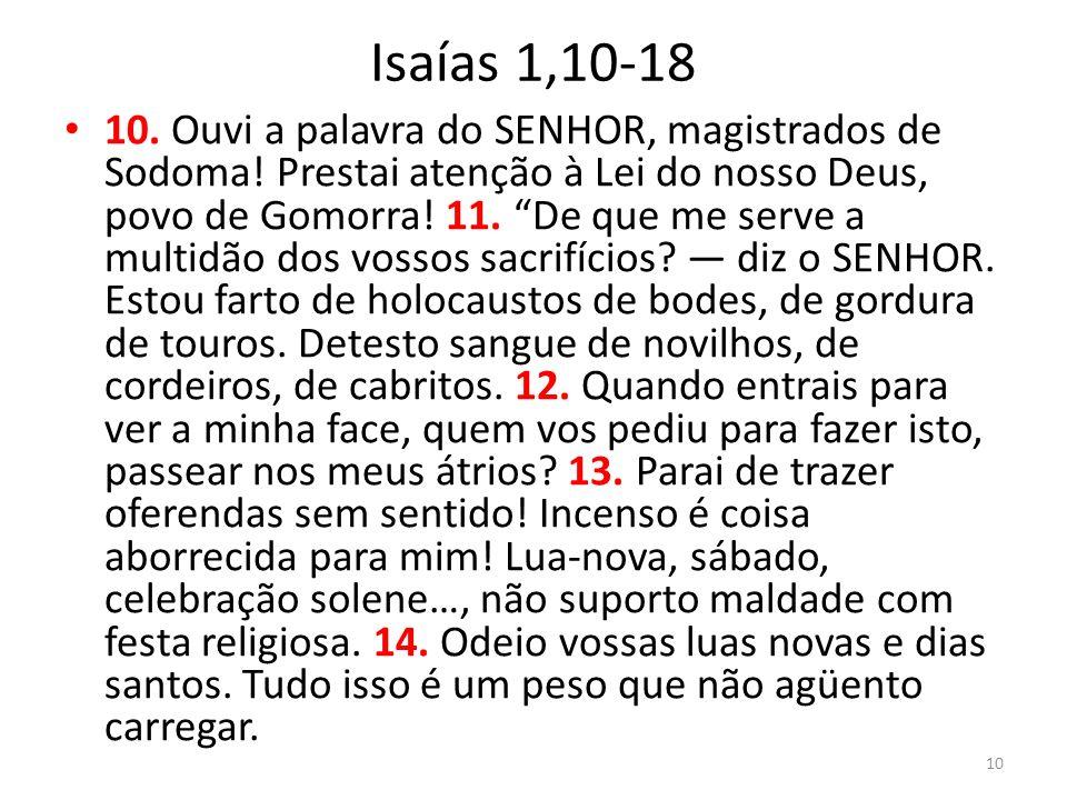 Isaías 1,10-18