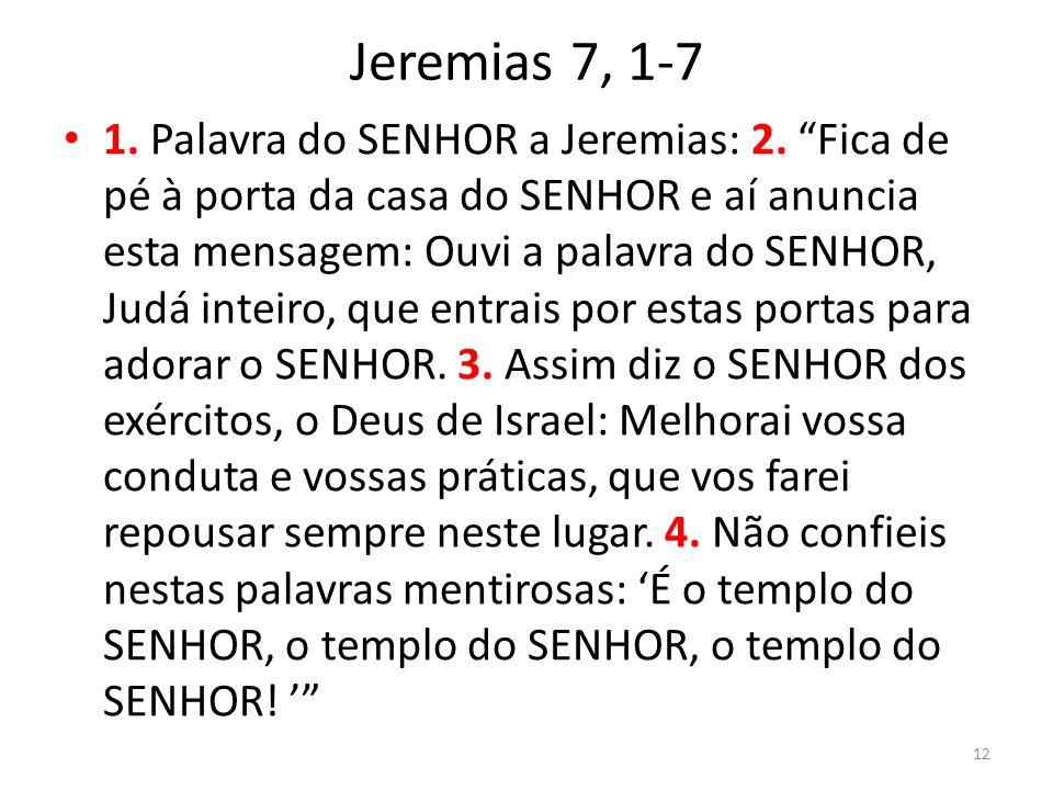 Jeremias 7, 1-7