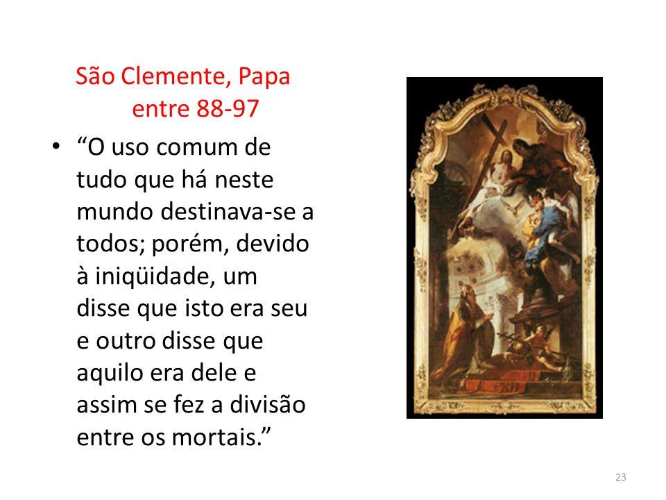 São Clemente, Papa entre 88-97