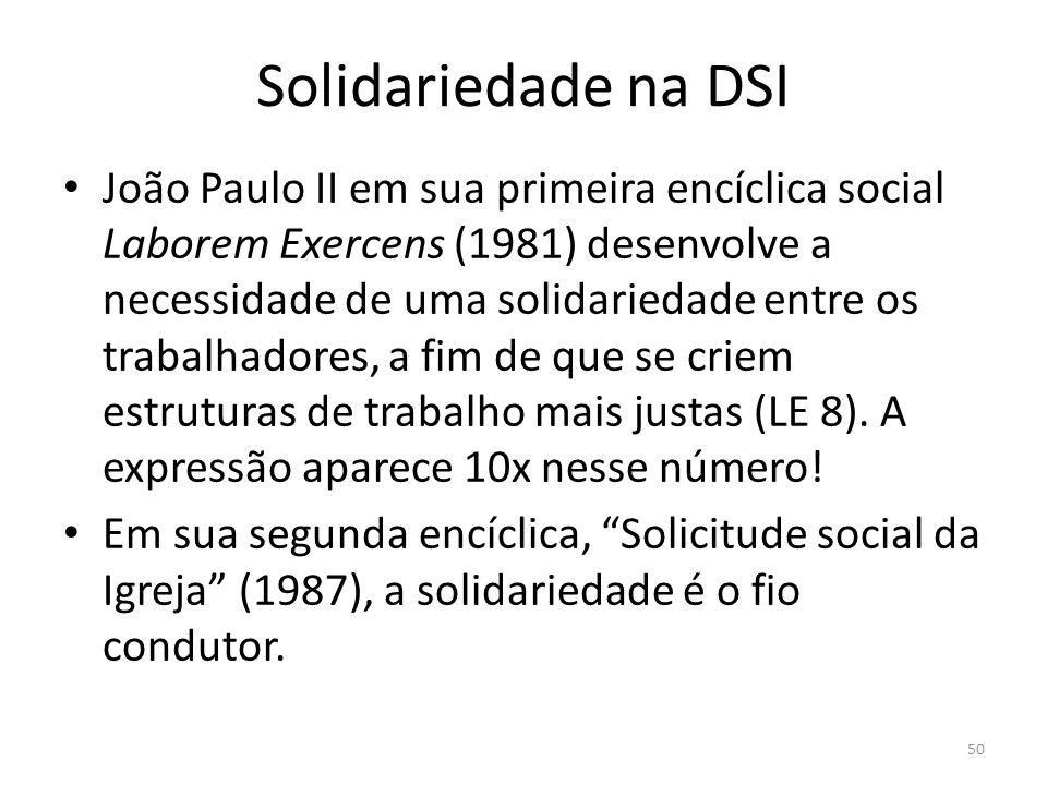 Solidariedade na DSI