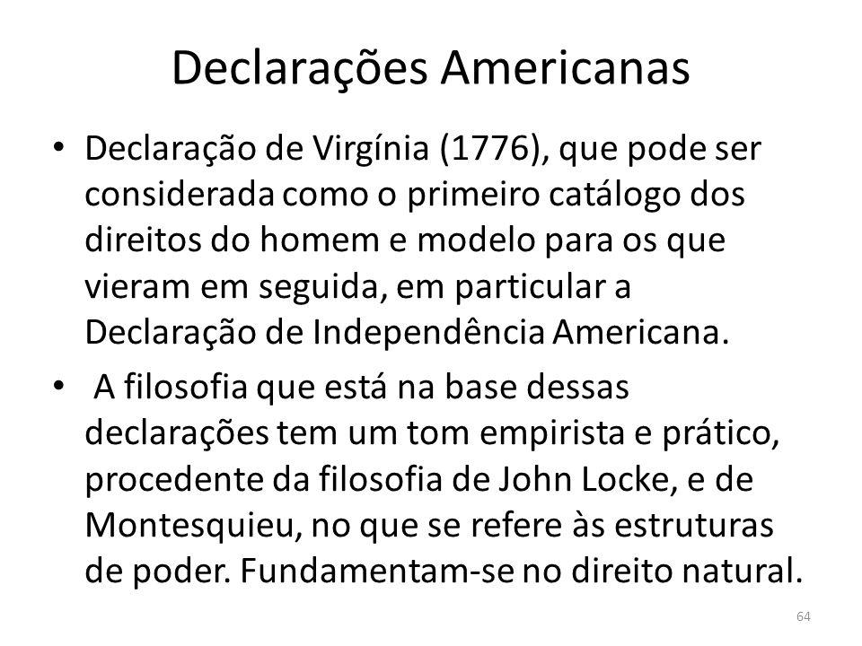 Declarações Americanas