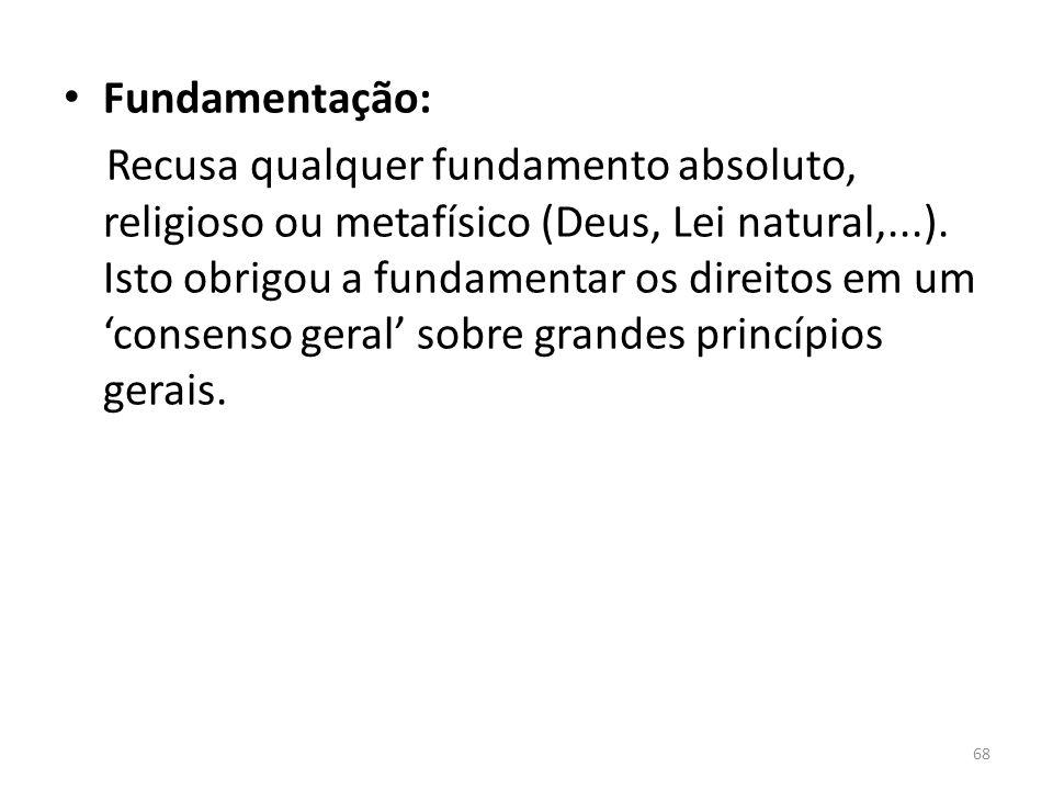 Fundamentação: