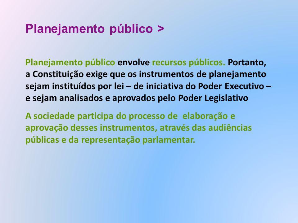 Planejamento público >