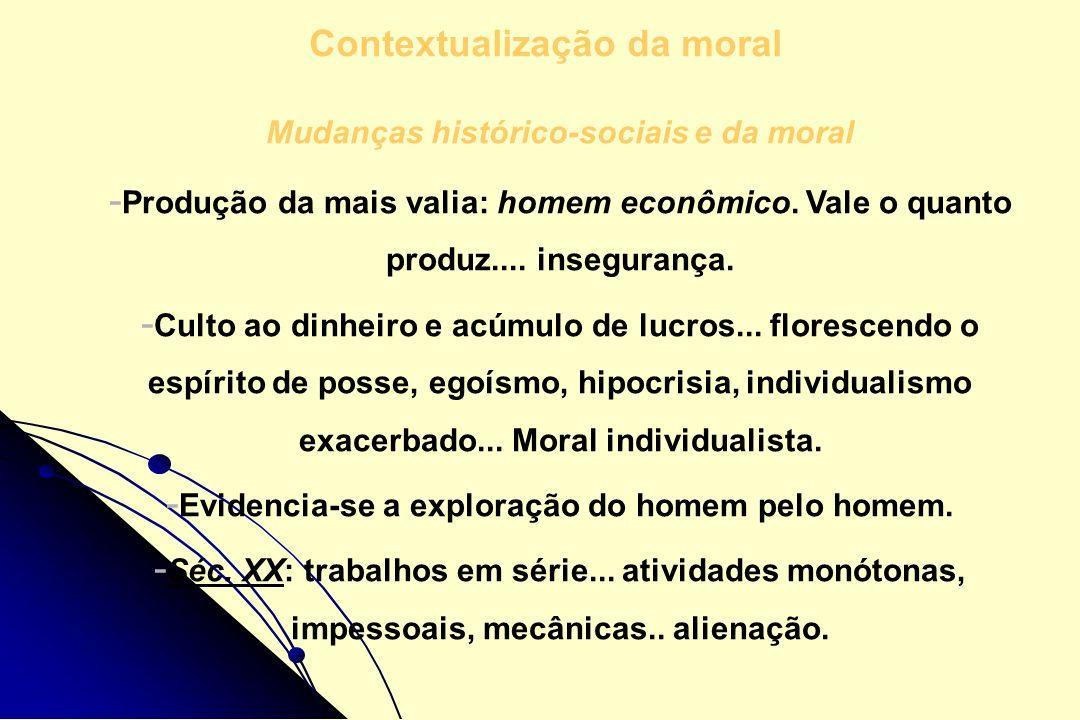 Contextualização da moral