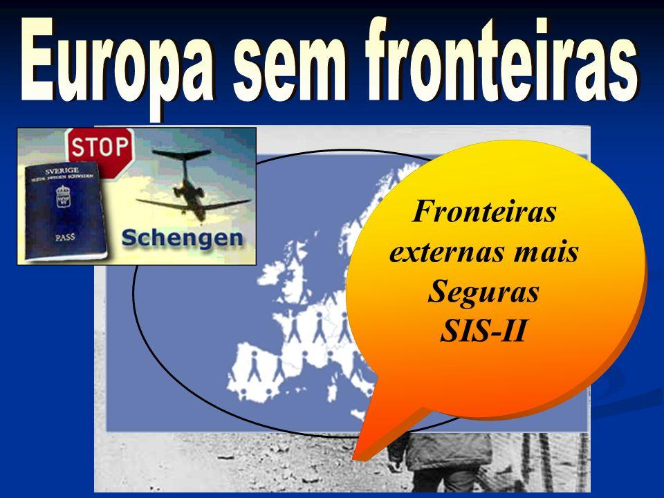 Fronteiras externas mais Seguras SIS-II