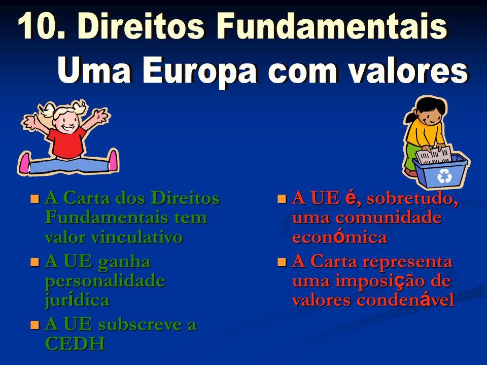 10. Direitos Fundamentais Uma Europa com valores