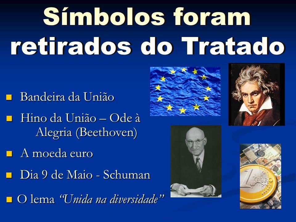 Símbolos foram retirados do Tratado Bandeira da União