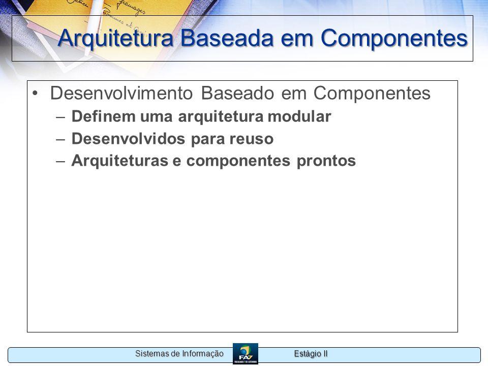 Arquitetura Baseada em Componentes
