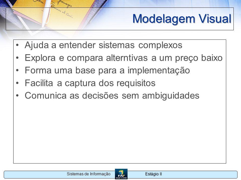 Modelagem Visual Ajuda a entender sistemas complexos