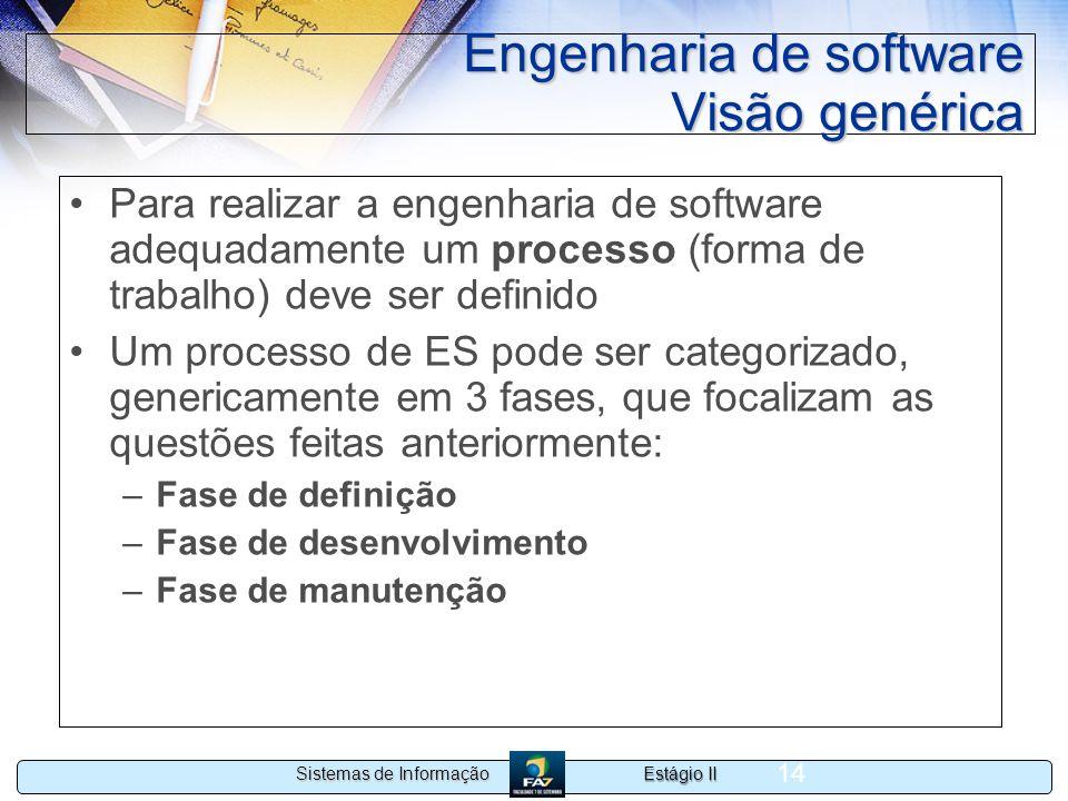 Engenharia de software Visão genérica