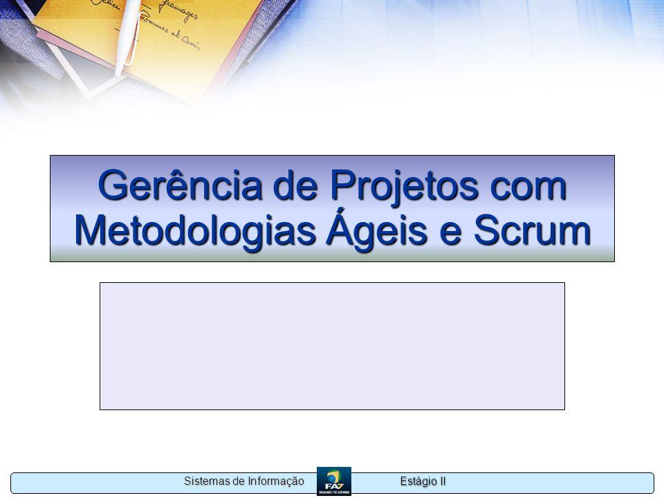Gerência de Projetos com Metodologias Ágeis e Scrum