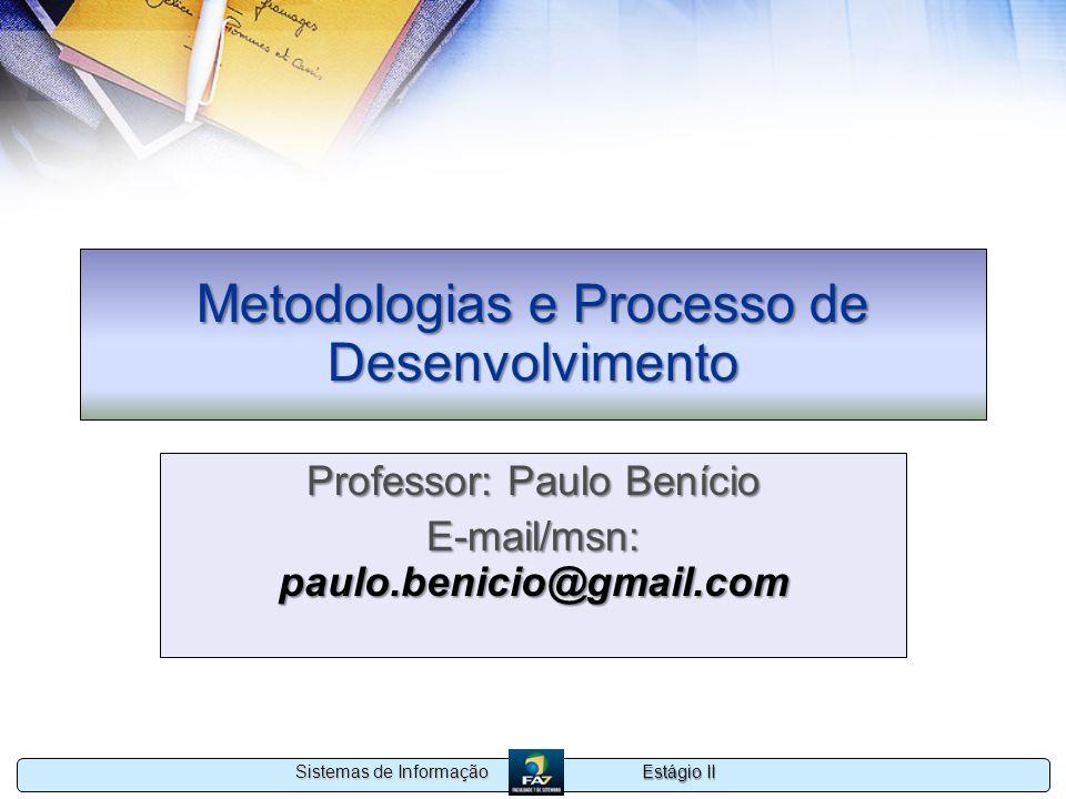 Metodologias e Processo de Desenvolvimento