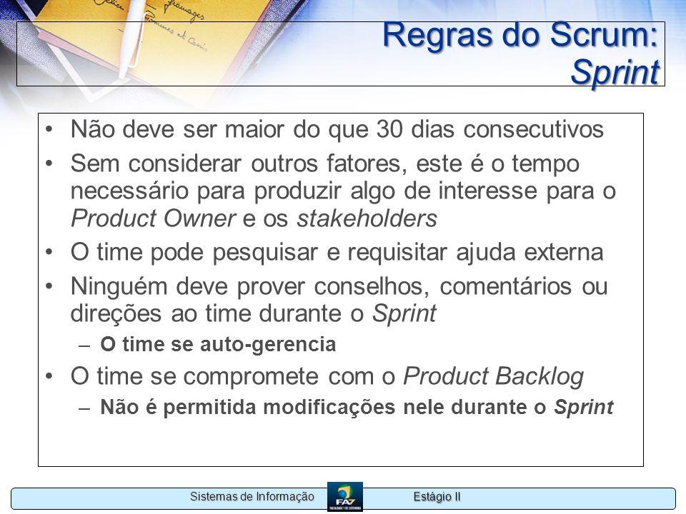 Regras do Scrum: Sprint