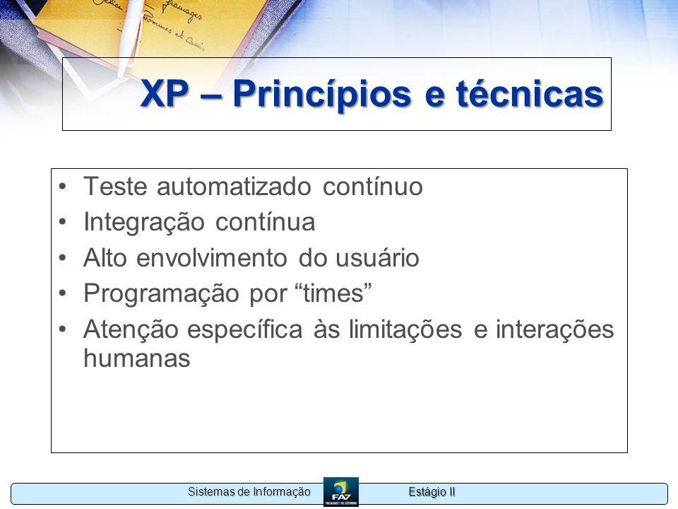 XP – Princípios e técnicas