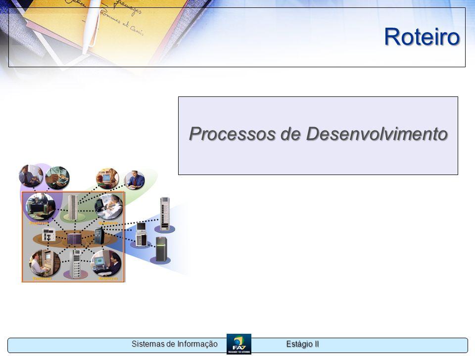 Processos de Desenvolvimento