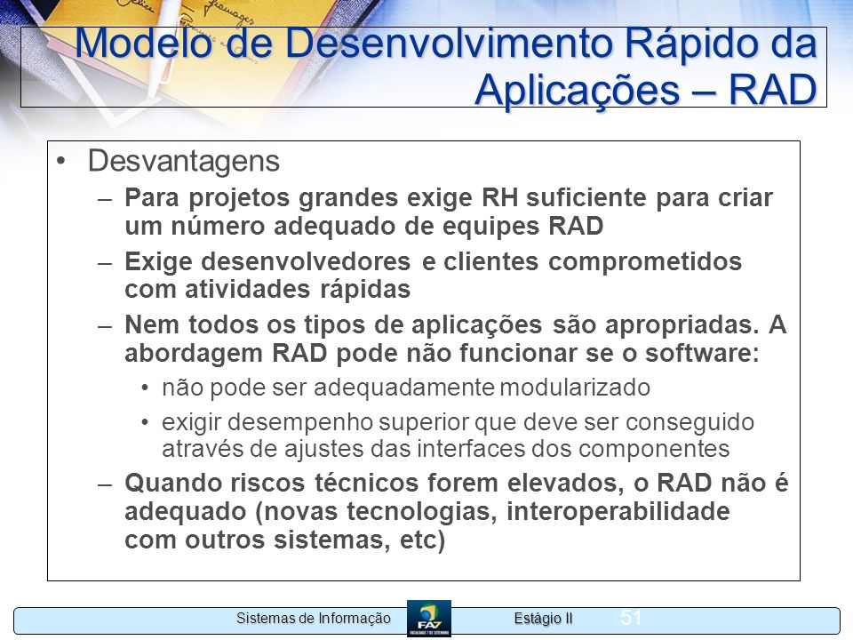 Modelo de Desenvolvimento Rápido da Aplicações – RAD
