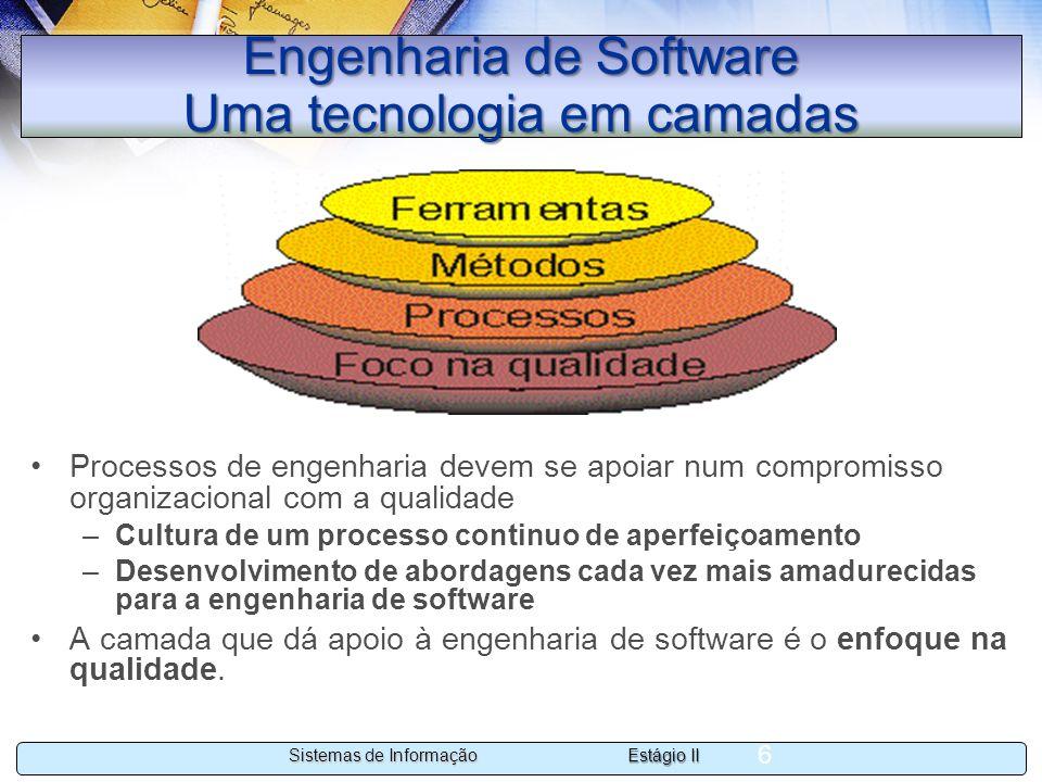 Engenharia de Software Uma tecnologia em camadas