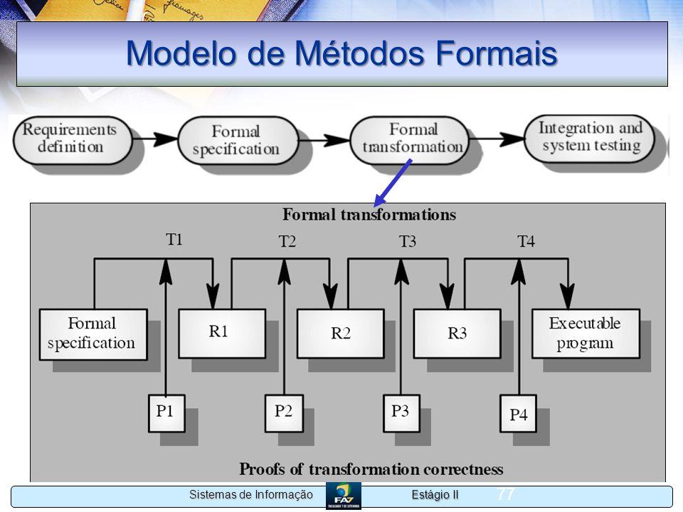 Modelo de Métodos Formais