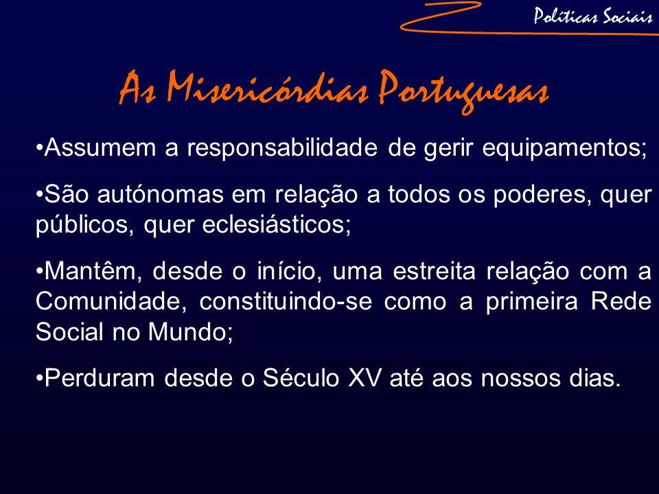 As Misericórdias Portuguesas
