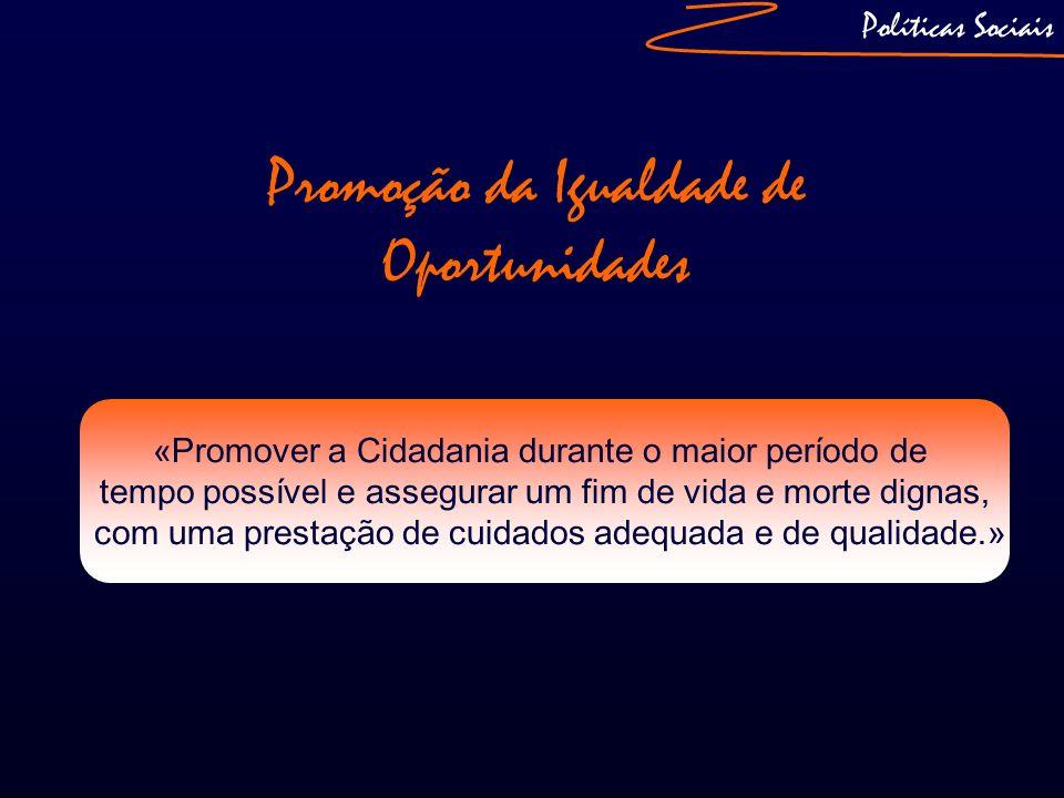 Promoção da Igualdade de Oportunidades