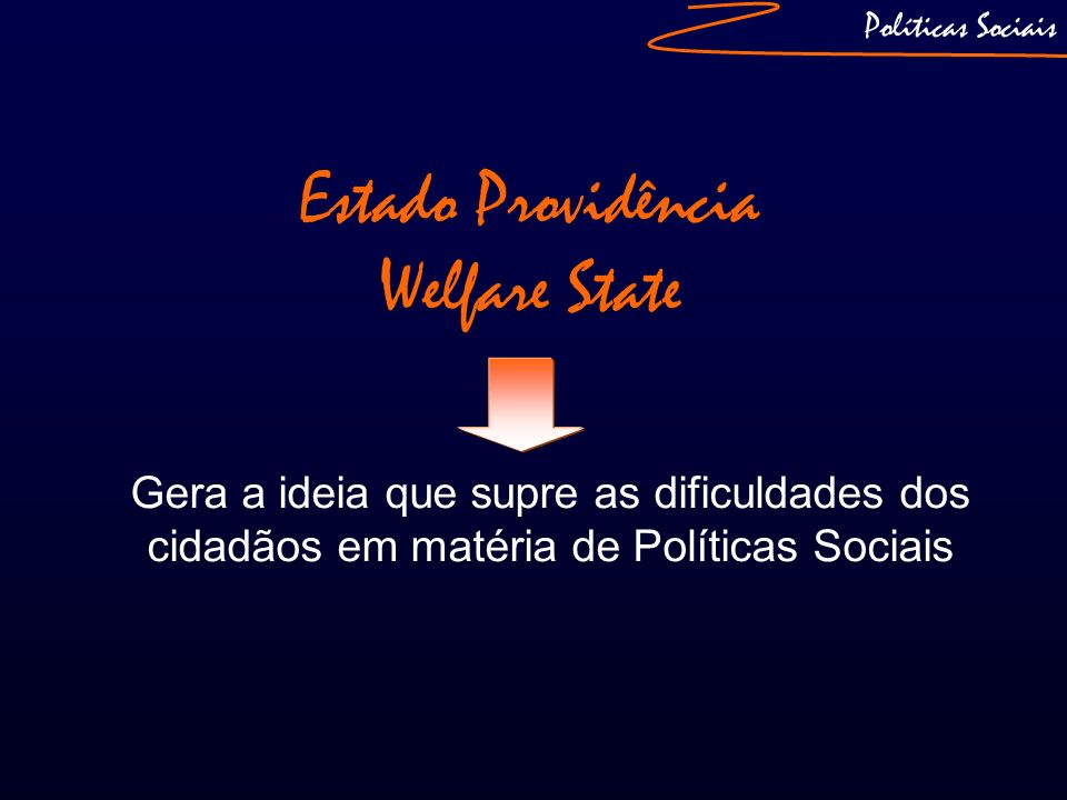 Estado Providência Welfare State