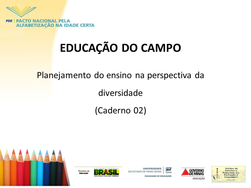 Planejamento do ensino na perspectiva da diversidade