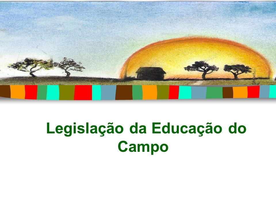 Legislação da Educação do Campo