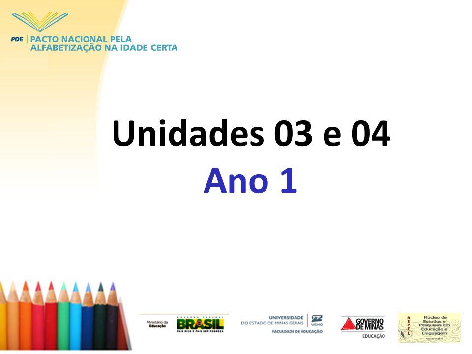 Unidades 03 e 04 Ano 1
