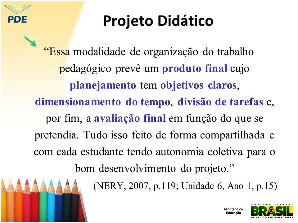 Projeto Didático