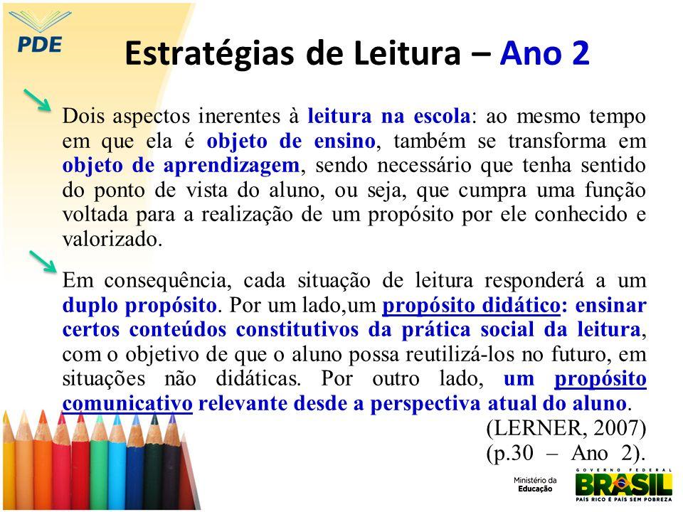 Estratégias de Leitura – Ano 2