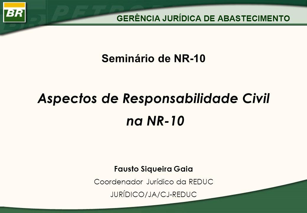 GERÊNCIA JURÍDICA DE ABASTECIMENTO
