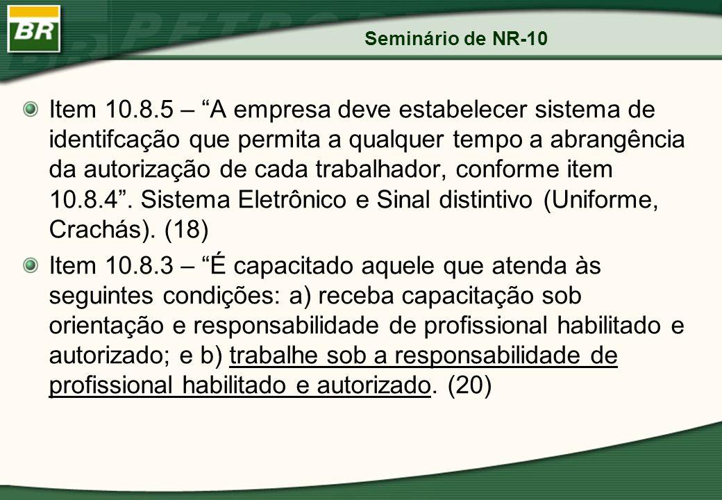 Seminário de NR-10