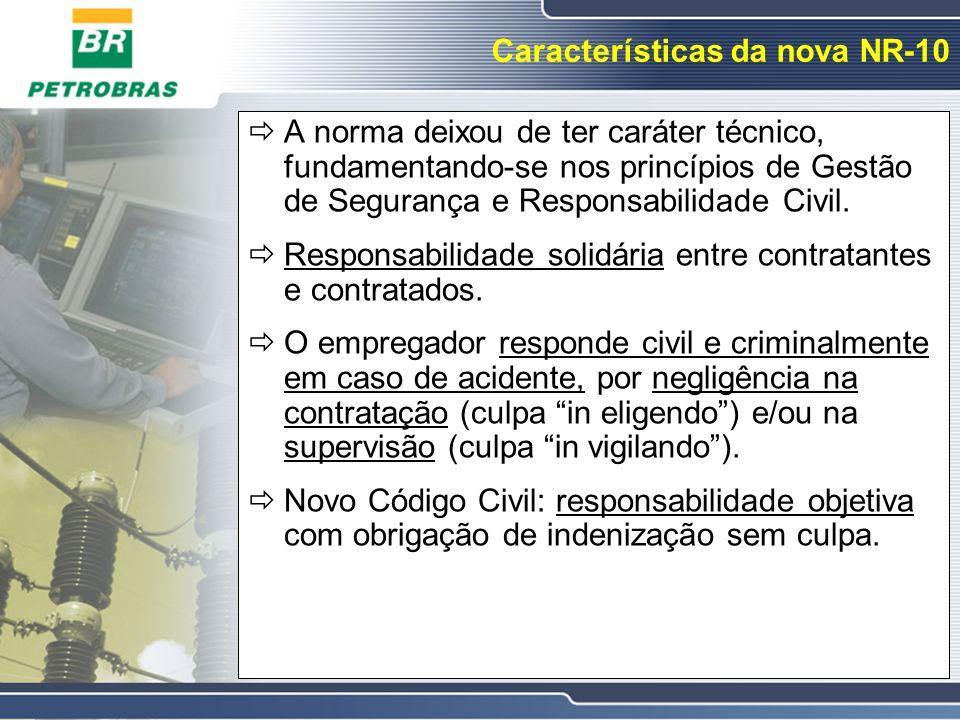Características da nova NR-10