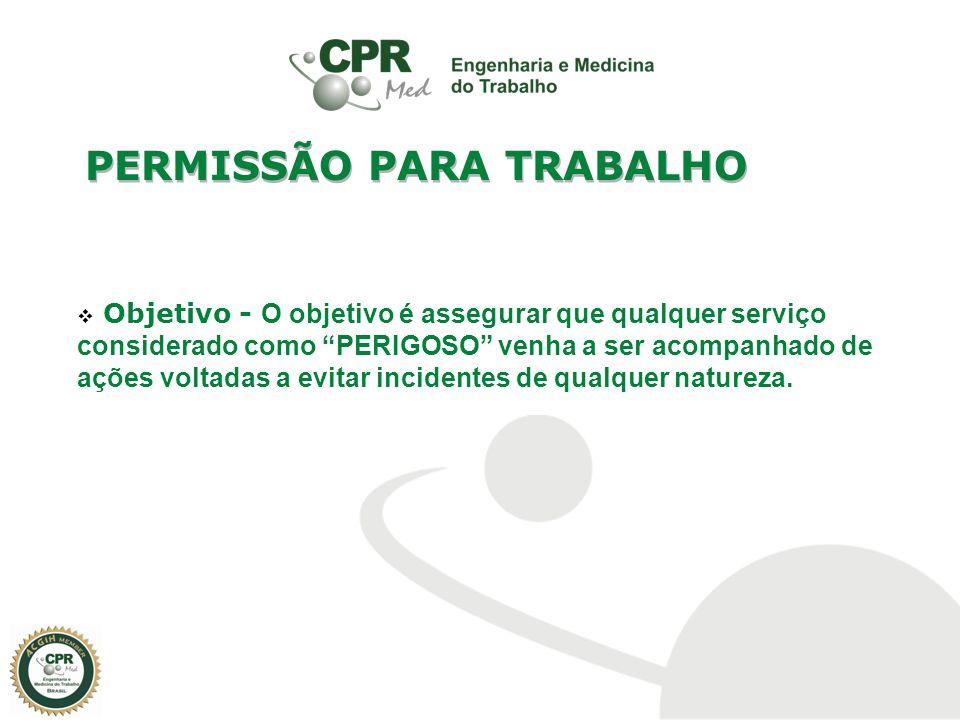 PERMISSÃO PARA TRABALHO