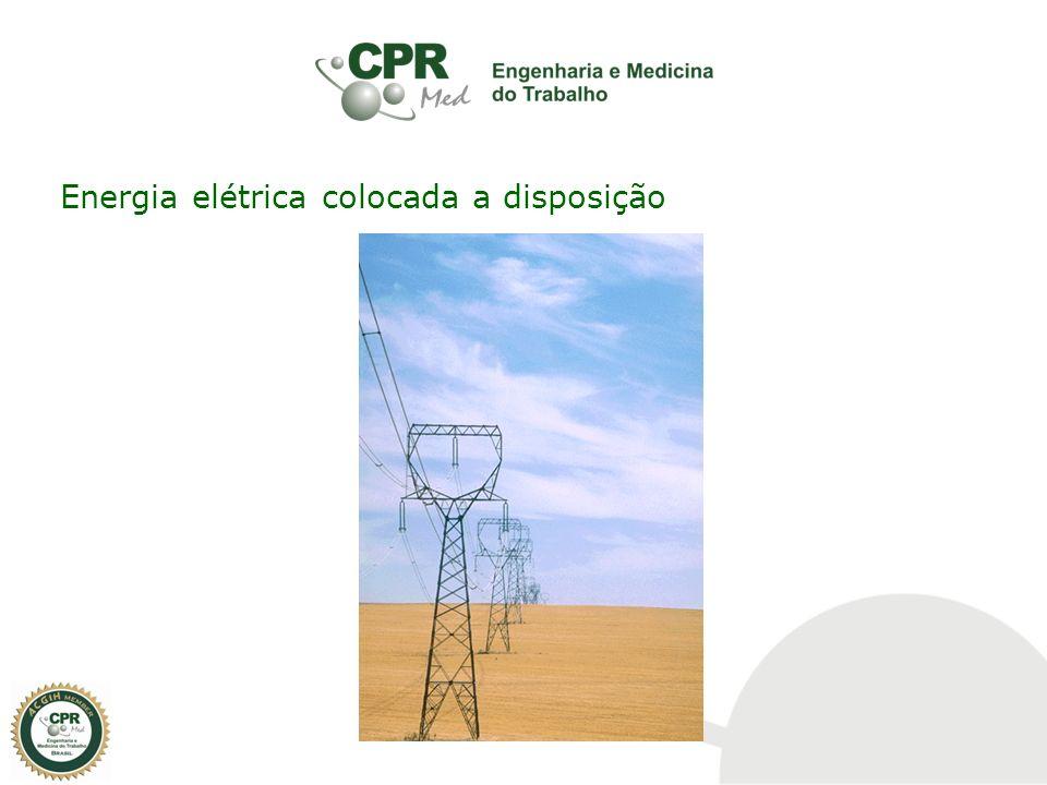 Energia elétrica colocada a disposição