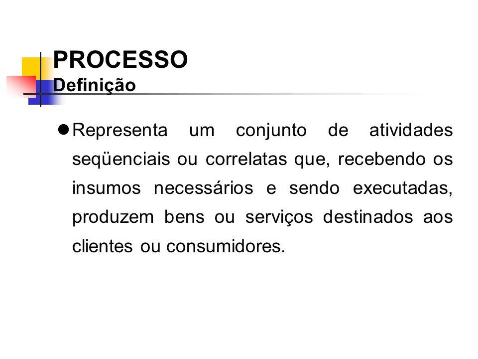 PROCESSO Definição.