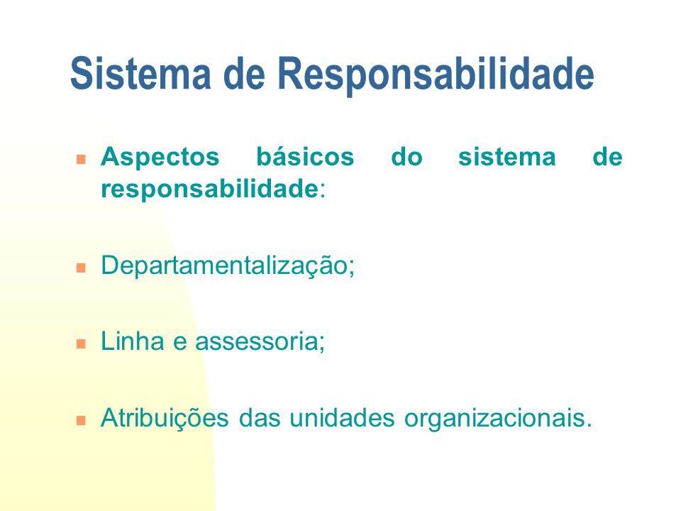 Sistema de Responsabilidade