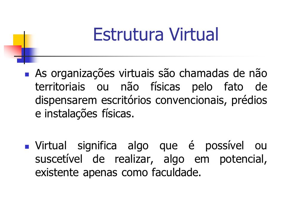 Estrutura Virtual