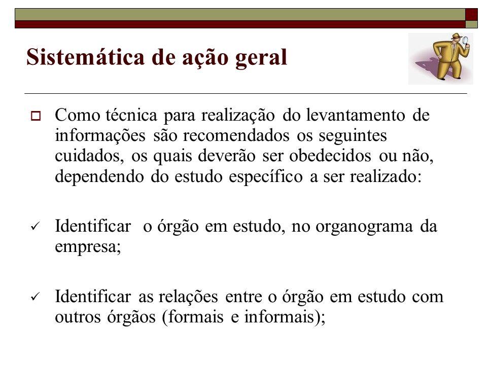 Sistemática de ação geral