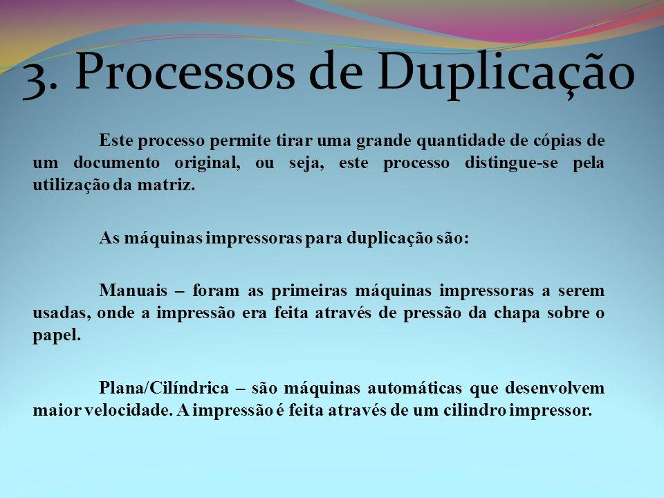3. Processos de Duplicação