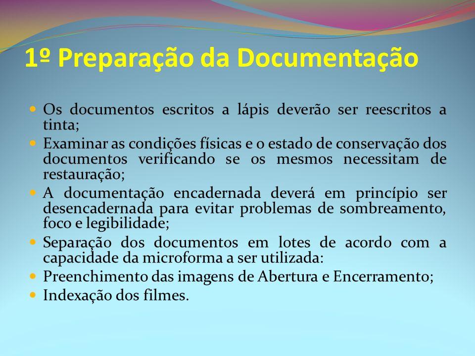 1º Preparação da Documentação