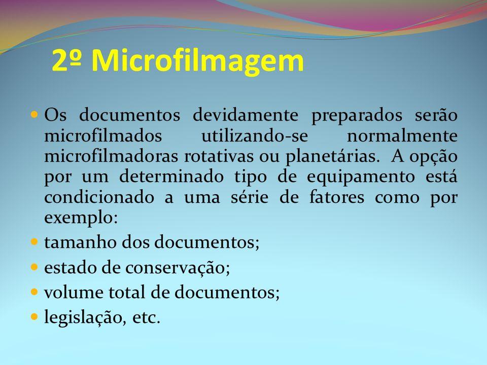 2º Microfilmagem